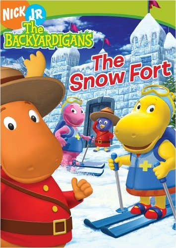 The Backyardigans - The Snow Fort by LaShawn Jefferies - Dvd Backyardigans