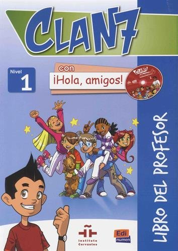 Clan 7. Nivel 1 . Libro profesor. Con CD