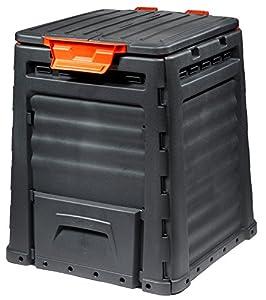 compostaje: Keter -  Compostador ECO, con capacidad de 320 L, Color gris oscuro