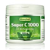 Super C, 1000 mg Vitamin C, hochdosiert, 360 Tabletten, vegan – mit Acerola, Hagebutte und Bioflavonoiden. Für ein bärenstarkes Immunsystem. Schützt die Zellen vor vorzeitiger Alterung. OHNE künstliche Zusätze. Ohne Gentechnik.