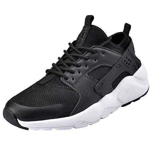 NEOKER Chaussures de Running Sport Basket Basses Entraînement Légère  Respirante Noir Sneakers pour Homme 42 622959f9509