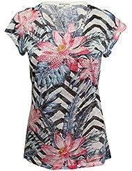 Brave Soul - Camiseta - Floral - para mujer