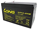 Kung Long Akku 12V 14Ah Pb Batterie Bleigel WP14-12SE zyklenfest kompatibel 12Ah 13Ah 15Ah 16Ah Bleiakku AGM Akkuman.de