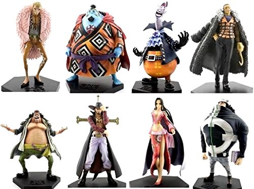 Seven Warlords of the Sea One Piece DX Figure King Vol.1 ~ Vol.4 all eight species set (japan import) 1