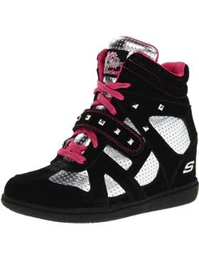 Skechers Double Trouble - Zapatillas de cuero niña