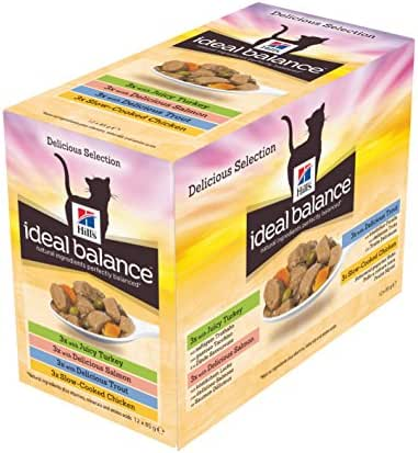 Ideal Balance : Sachet Chat Adult Multipack Ideal Balancex12