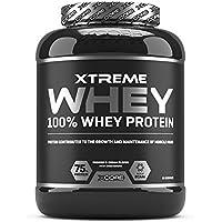 Xcore Xtreme 100% Whey Protein in Polvere 2kg - Promuove la Crescita e il Mantenimento della Massa Muscolare - Integratore Vegetariano Carico di BCAA, Glutammina & Vitamine - Gusto Cioccolato - 60Dosi