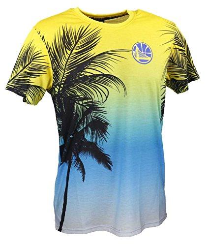 Preisvergleich Produktbild New Era Herren Oberteile/T-Shirt NBA Coastal Heat Golden State Warriors Bunt L