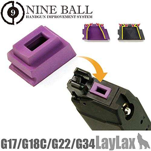 Nineball Airsoft Magazine Gas Router Seal Packing G Series Green bb's 176993 (Blowback Magazin Airsoft Gas)