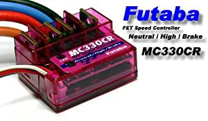 RCECHO® Futaba RC Model MC330CR Speed Controller 13-27T Motor ESC SE032 avec RCECHO® Version Complète Apps Édition