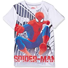 Spiderman Chicos Camiseta manga corta - Blanco