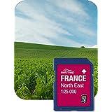 SATMAP Carte: France Nord-Est 1:25k