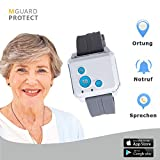 M-Guard/Notrufarmband/Notfallknopf für Senioren/Notruf Armband/Notrufsystem mit GPS-Ortung