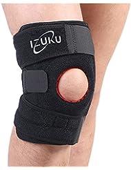 Rodillera profesional Izuku antideslizante Soporte para actividades deportivas, totalmente ajustable