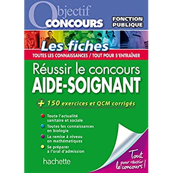 Objectif Concours Fiches Aide-Soignant