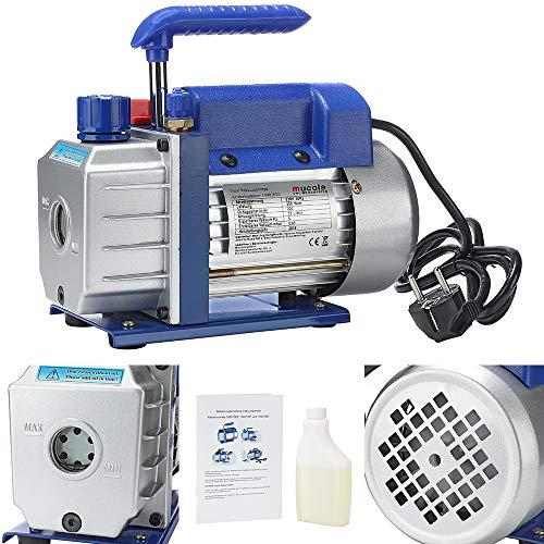 Melko 50 l/min Vakuumpumpe Unterdruckpumpe Vakuum Pumpe -