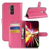Lapinette Schutzhülle Wallet-Etui für Huawei matt 20 Lite rosa