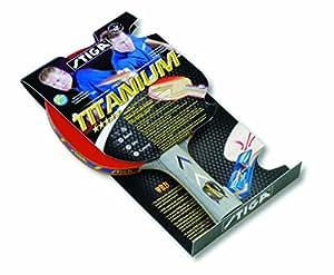 Raquette de tennis de table Stiga Titanium - Rouge