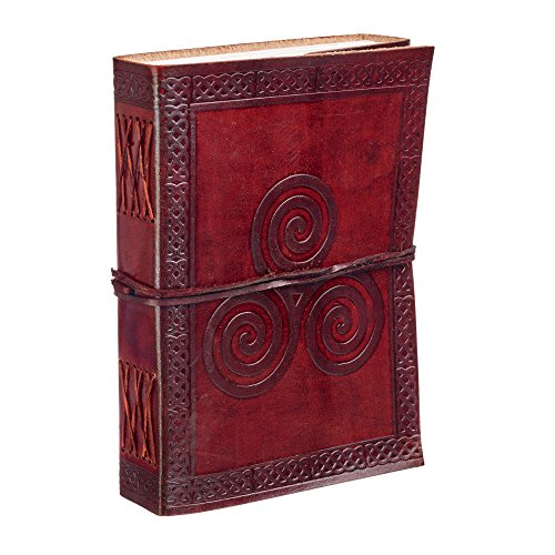 Triskel Celtique Cuir Journal ordinateur portable