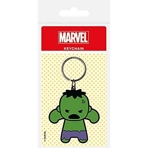 juguetes kawaii Marvel - Comics goma llavero de Kawaii Hulk 6 cm Pirámide Internacional