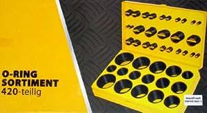 O-Ring-Sortiment - 420-teilig für die radial statische Abdichtung