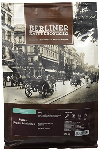 BKR | Kaffee | Berliner Frühstückskaffee | Arabica | Mischung 1000g Bohne