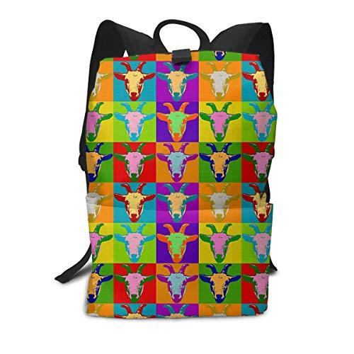 Tibetan Antelope Backpack Middle für Kinder Jugendliche Schulreisetasche