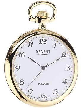 Regent Taschenuhr Regent Mechanisch vergoldet 11230013