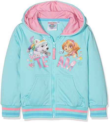 Nickelodeon Mädchen Sweatshirt Paw Patrol Team Skye, Blau, 3 Jahre