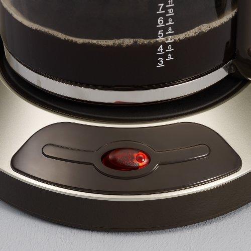 Sevrin Caffettiera Automatica KA 4146 1000 W, Colore Marrone-Titanio