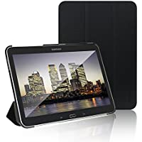 "JETech 0590-CS-SAMSUNG-T4-10-BK 10.1"" Folio Negro funda para tablet - fundas para tablets (Folio, Samsung, Galaxy Tab 4, 25,6 cm (10.1""), Negro)"