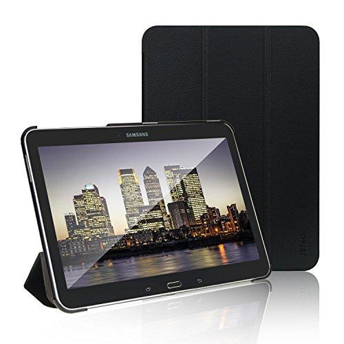 JETech Custodia per Samsung Galaxy Tab 4 10.0 (T530/T535), Cover con Funzione di Supporto, Auto Svegliati/Sonno, Nero