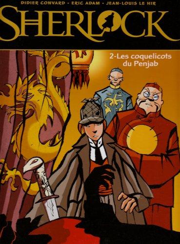 Sherlock, Tome 2 : Les coquelicots du Penjab