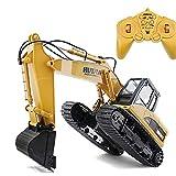 Wiederaufladbare RC-Bagger im Maßstab 1:14 LKW-Fernsteuerungsbagger Spielzeug voll funktionsfähiger Bau Traktor