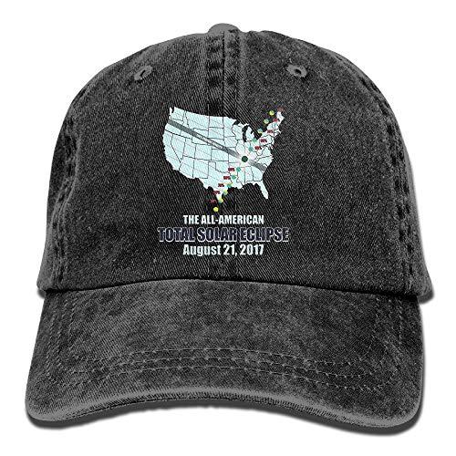 Preisvergleich Produktbild The All American Total Solar Eclipse Adult Cowboy Cap