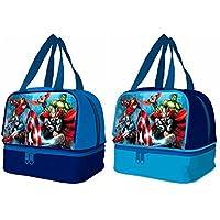 Los Vengadores Marvel Bolsa portameriendas con Base