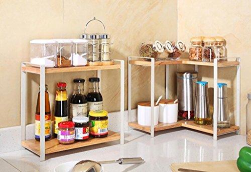 Scaffali in legno per cucina. latest iyn epipl x from elegante