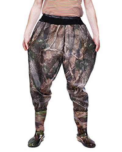 Xinwcang Pantalón de Pesca para Hombre Impermeable Rain Pantalones de Moto 8772db7a1004d