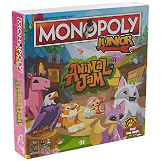 Animal Jam Junior Monopoly Board Game
