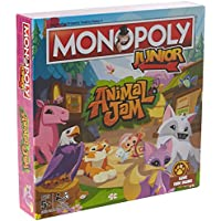 Winning Moves 2589 Animal Jam Junior Monopoly Board Game