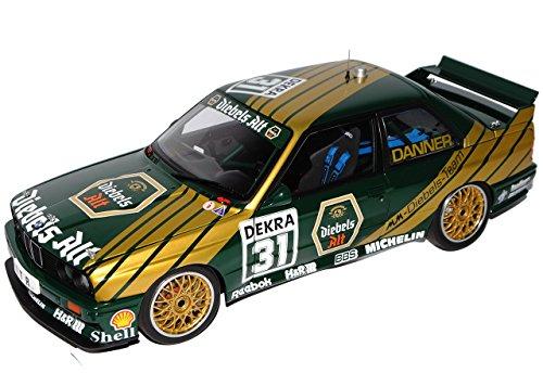 Preisvergleich Produktbild BMW 3er M3 E30 DTM 1991 Diebels Alt Danner Nr 31 1982-1994 89148 1/18 AutoArt Modell Auto