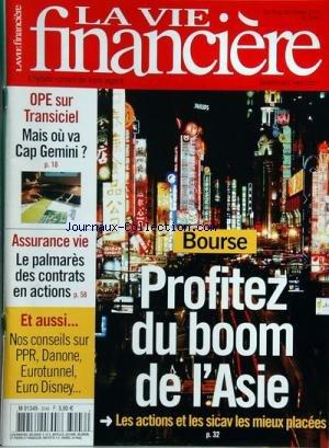vie-financiere-la-no-3046-du-24-10-2003-bourse-profitez-du-boom-de-lasie-ope-sur-transiciel-mais-ou-