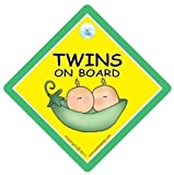 Twins On Board, Twins on board car sign, Peapod, Twins On Board Sign, Unisex Baby on Board Sign, Unisex Twins On Board Sign, Baby Safety Sign, Baby on Board Sign, baby on board, Twins On Board Sign, Baby Car Sign, Twins Car Sign, Baby Safety Sign, Twin Car Signs
