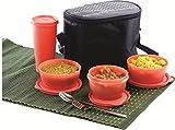 Princeware Supreme Lunchpack Set, 4-Piec...