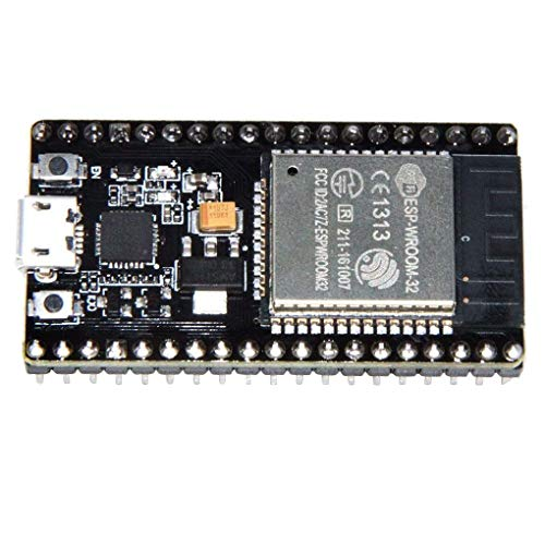 Fangfeen ESP-WROOM-32 ESP32 ESP-32S Development Board 2.4GHz Dual-Mode WiFi Bluetooth Double Cores Processeur