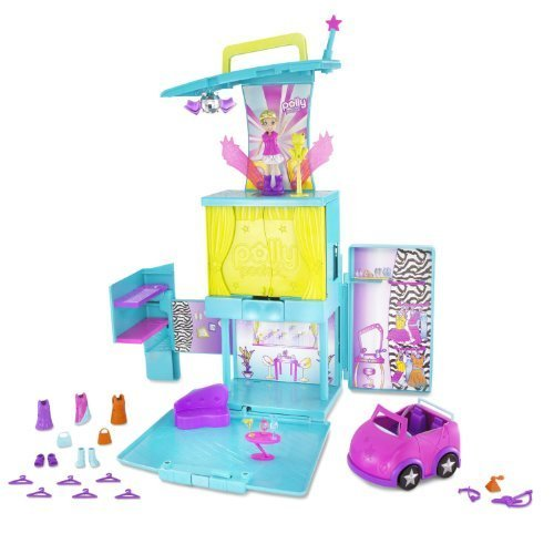 polly-pocket-magic-fashion-stage-pop-n-lock-transforming-playset-with-bonus-dvd-by-mattel