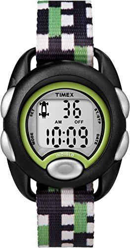 Timex Kinder Digital Quarz Uhr mit Nylon Armband TW7C13000