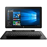 Tablette, Tablet computer, Cube iwork 1x i30 Intel Atom X5-Z8350 11.6 Inch IPS 19201080 4GB Ram 64GB Rom Win10+Android 5.1 Tablet PC MINI HDMI Bluetooth 2.0MP (Tablet with keyboard (front black back grey))