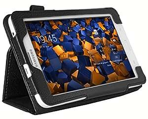 mumbi Etui Cuir Samsung Galaxy Tab 3 7.0 Lite T110 T111 (7 Pouces) en Book Style - Etui à Clapet Por