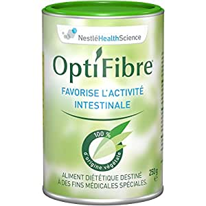 Nestlé Health Science - OptiFibre - transit et constipation - Boite de 250 g